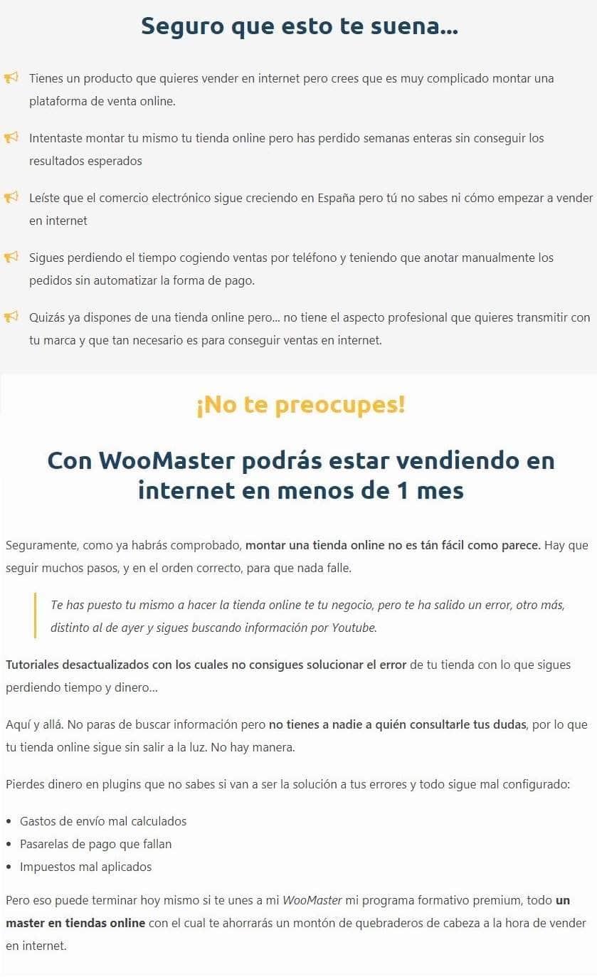 crear una tienda online, crear un sitio web, crear mi propia tienda online, crear un sitio con wordpress, crear una tienda con woocommerce,